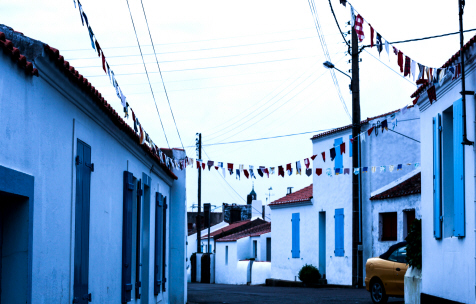 Rue de Port Joinville - (Photo de Laure Duchet - Mai 2015)