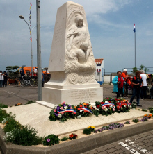 LLe Monument de la Norv�ge - Port Joinville -Ile d'Yeu (Photo Coll. JLB)